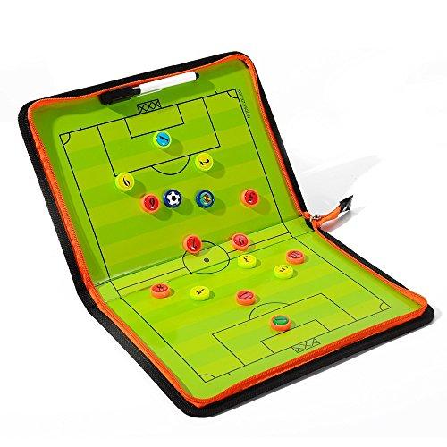 Fußball-Trainer Magnettafel für Strategie, mit Marker.