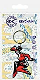 Pyramid International DC Originals Harley Quinn Rubber Keychain, Multi-Colour, 4.5 x 6 cm