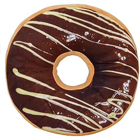 Donut Cuscino dolce novità Indietro Cuscino imbottito