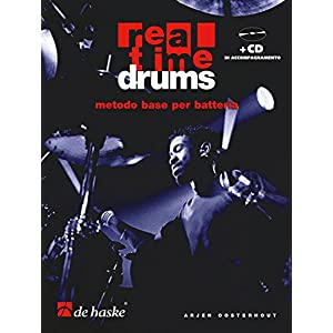 Real Time Drums (IT)  metodo base per batteria + CD