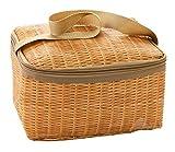 Lukis Kühltasche Klein Thermotasche Wasserdicht Isoliertasche Picknicktasche Outdoor Camping Kaki 22*14*12cm