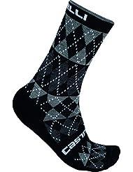 Castelli - Diverso Sock, color negro, talla EU 40-43