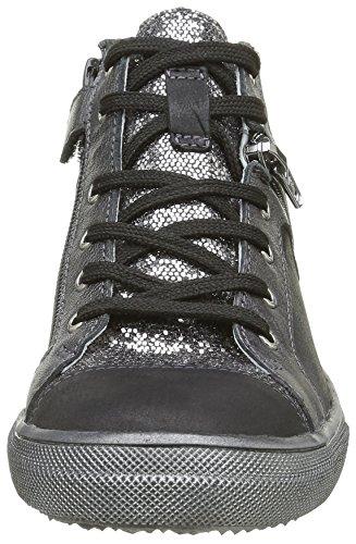 Achile Mädchen Kami Sneaker Noir (11 Vts Noir/Argent Dpf)