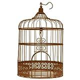 SANTEX 3871-41, Tirelire Cage métal, coloris Rouille