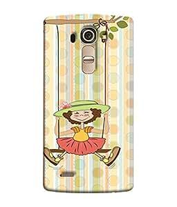 Fuson Designer Back Case Cover for LG G4 :: LG G4 Dual LTE :: LG G4 H818P H818N :: LG G4 H815 H815TR H815T H815P H812 H810 H811 LS991 VS986 US991 (lotus sunflower rangoli artwork)