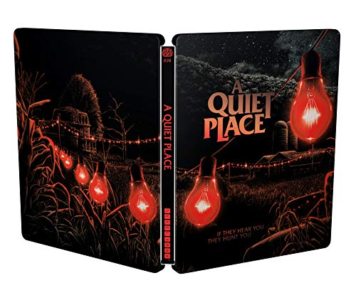 A Quiet Place: Un Posto Tranquillo - Mondo Steelbook 4K Ultra Hd (Limited Edition) (2 Blu Ray)