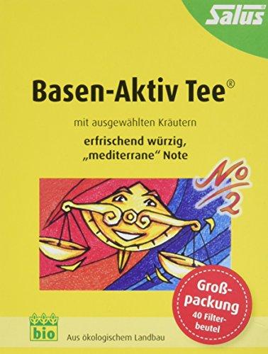 Salus Basen-Aktiv Tee Nr. 2 Mediterran, im FB, 2er Pack (2 x 72 g) - Bio (Aktiv Tee)