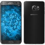 PhoneNatic Funda de Silicona para Samsung Galaxy S7 Edge - Transparente Crystal Clear - Cover Cubierta Case