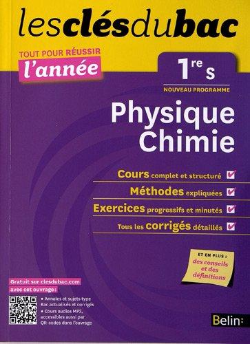 Cls Du Bac - Physique Chimie 1re S - Russir L'anne
