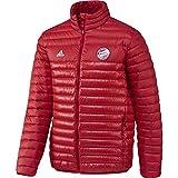adidas Herren FC Bayern München Jacke, FCB True Red/White, M