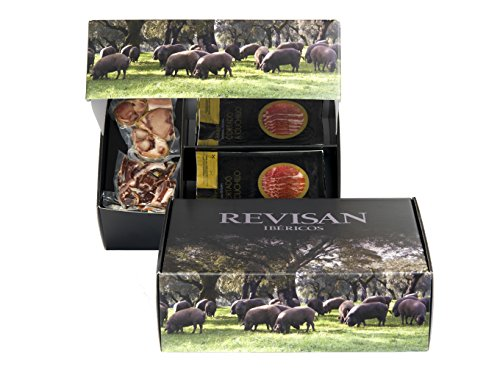 Pata Negra Schinken aus Wildpflanzenmast Revisan - Premiumset 7 kg