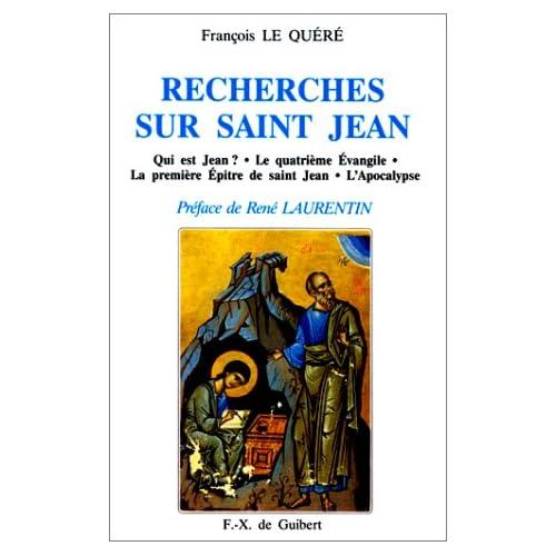 Recherches sur saint Jean...