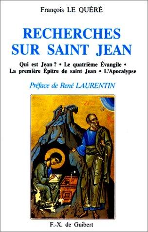 Recherches sur saint Jean.