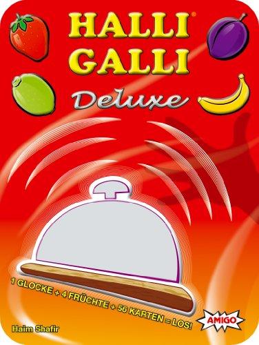 Amigo 09760 - Halli Galli Deluxe, Kartenspiel