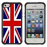 FJCases R-U Royaume-Uni Drapeau Britannique Union Jack Housse Coque Étui Antichoc...