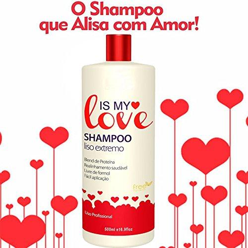 Is My Love Shampoo Smooth Extreme Intense Hair Reconstruction Progressive 1000ml -