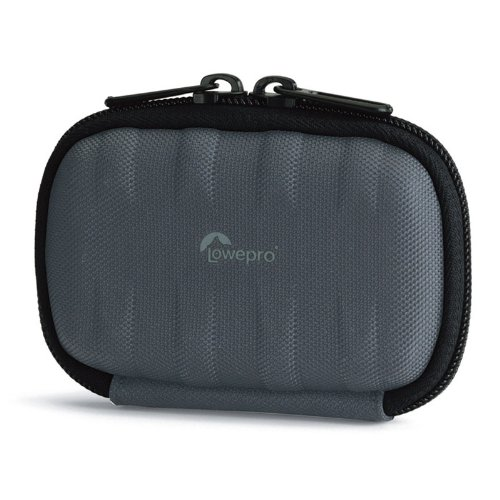 Lowepro Santiago 10 grey, LP36262 (Hard-case for ultra compact camera. Size (interior): 10x2,2x6cm)