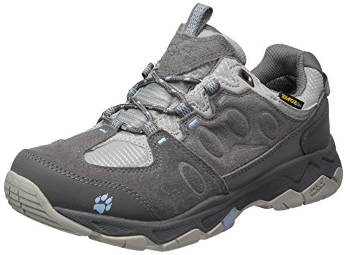 Jack Wolfskin Mtn Attack 5 Texapore Low W, Scarpe da Arrampicata Donna Grigio (Cool Water)