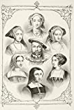 Ken Welsh / Design Pics – King Henry Viii Of England And His Six Wives. From Top Centre And Clockwise Anne Of Cleves Catherine Howard Anne Boleyn Catherine Of Aragon Catherine Parr And Jane Seymour. From The National And Domestic History Of England By William Aubrey Published London Circa 1890 Photo Print (60,96 x 86,36 cm)