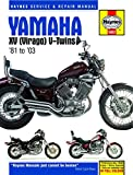 Yamaha XV 535 Virago (Europe) 1988-2001 Manuals - Haynes (Each)