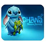 Lilo and Stitch Personalized Custom Gaming Mousepad Rectangle Mouse Mat / Pad Office Accessory And Gift Design-LL610
