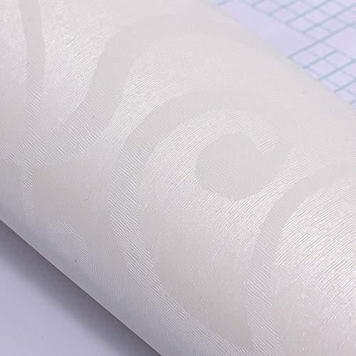 Dicke selbstklebende Tapete, Tapete Wohnzimmer Hintergrund Schlafzimmer Aufkleber selbstklebende Rebe weiß 60cm