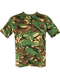 Kids Army Camouflage T-Shirt - Ages 2-14 (Age 5-6 Yrs)