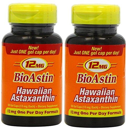 BioAstin 2 Dosen je 50 Kapseln à 12 mg -