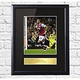 Dimitri Payet West Ham United Signed Mounted Photo Display