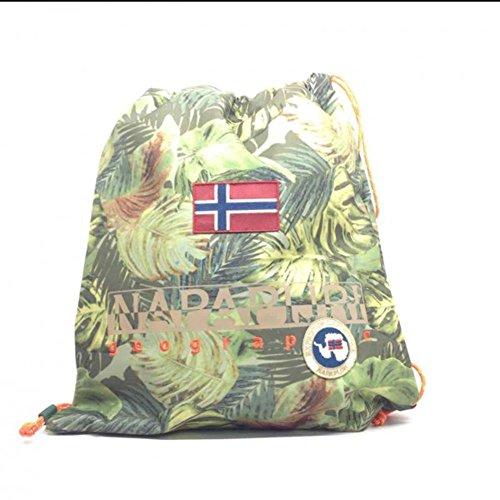 Gym backpack | Napapijri North Cape | 5ANN3R22-Green