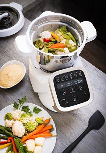 Krups Prep & Cook HP5031 Multifunktions-Küchenmaschine mit Kochfunktion