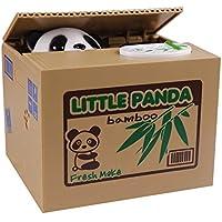 Cute Eshowy Panda/Panda Salvadanaio Itazura Piggy Bank (Bank Panda Coin Bank Stealing raccogliere monete gatto) - Dime Bank