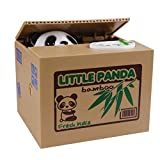 eshowy Cute Panda Geld Saving Bank/Panda Sparschwein (Itazura Panda Münzsammler Bank stehlen Medaille Katze)