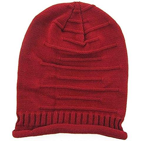 PIXNOR Moda inverno cappello Cap trecce calda