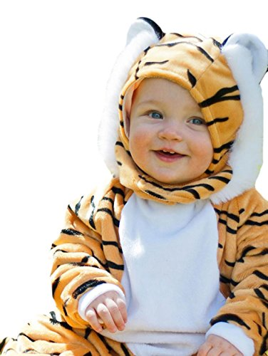 erdbeerloft - Unisex - Baby Baby Tiger Karneval Komplett Kostüm , Mehrfarbig, Größe 80-86, 12-18 Monate