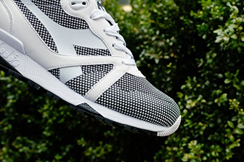 Diadora N9000 Arrowhead, Sneaker Basses Mixte Adulte, Opt. White/Black opt. white/black