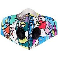 Bellagione Atemschutzmaske Staubdichte Maske, Pollen, Allergie, PM2,5Staubmaskenfilter für Laufen, Radfahren... preisvergleich bei billige-tabletten.eu
