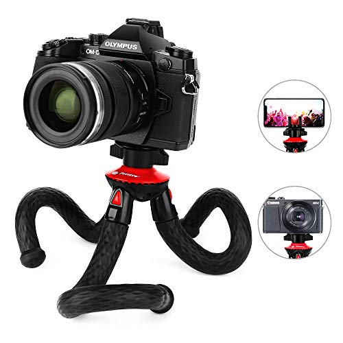 Fotopro Handy Stativ Flexibel Smartphone Stative leicht Tripod Mini Kamera Stativ für iPhone, Samsung Galaxy, Huawei, Digtalkamera DSLR