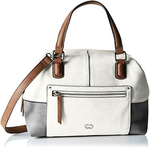 GERRY WEBER - Ocean City Handbag Mhz, Borsa a mano Donna Weiß (Weiß (white))