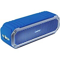 Altoparlante Bluetooth Impermeabile COMISO Speaker Wireless (IP65, 5W Dual Stereo, Bluetooth 4.0 + EDR, 15 Ore di Riproduzione) per iPhone e Smartphone Android e Tablet PC, ecc - (Blu navy)