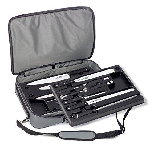 3Claveles 1680 - Maletin profesional para cuchillos y utensilios, 15 p