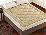 Best Mattress Pad Kings - Linenwalas Imported All Season Dual Purpose Quilted Mattress Review