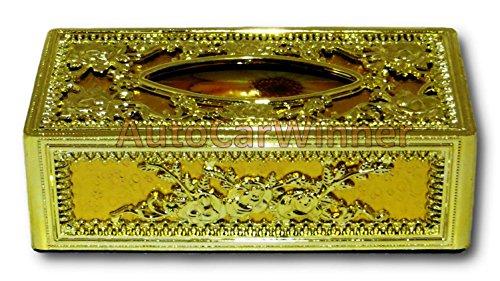 auto car winner golden tissue box/dispenser for car,home & office AUTO CAR WINNER Golden Tissue Box/Dispenser for Car,Home & Office 513NkTE5i5L