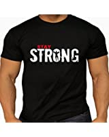 Quality Men's 'Stay Strong' T-shirts.