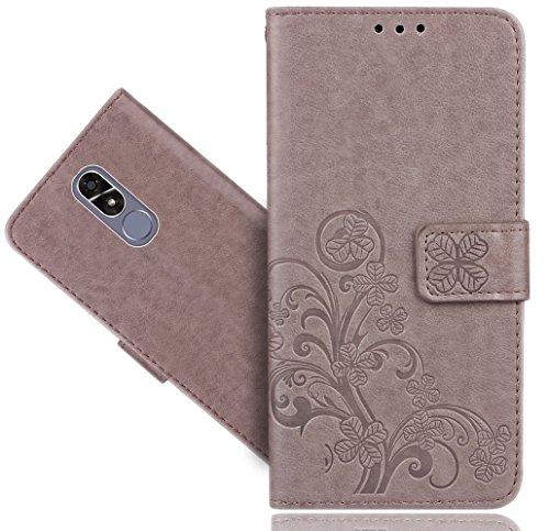 FoneExpert® CUBOT R9 Handy Tasche, Wallet Case Cover Flower Hüllen Etui Hülle Ledertasche Lederhülle Schutzhülle Für CUBOT R9