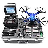 Potensic Drone con Custodia per Trasporto ,Drone RC Wifi FPV Quadricottero HD...