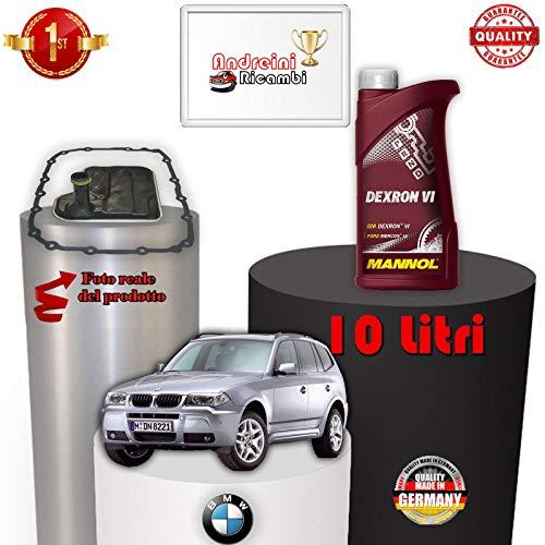 KIT FILTRO CAMBIO AUTOMATICO E OLIO X3 E83 3.0 si 200KW DAL 2010 -> /1099