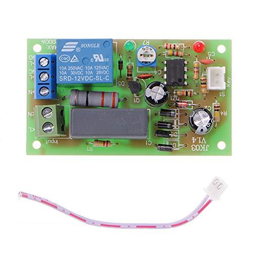 Fewxdsad Trigger Delay Switch Relay Modul Turn On Off Adjustable Timerrelais Board SPC AC 220 V -