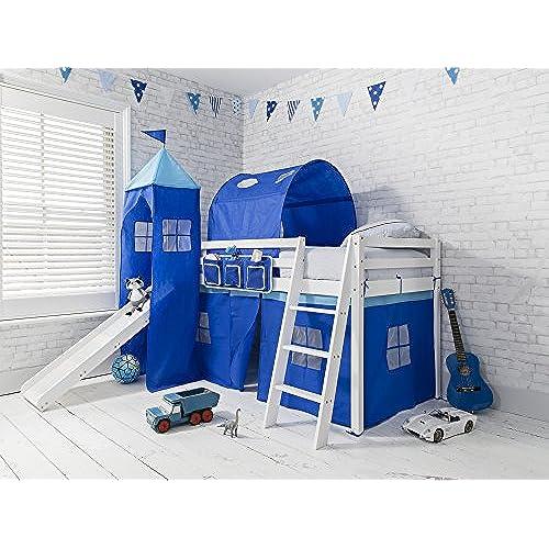 style ladder with bedroom awesome kids slide themed design excellent bed castle bunk