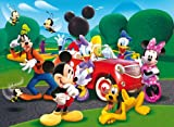 Clementoni 23576.6 - Puzzle Maxi Mickey Mouse: Ride with the new car 104 teilig